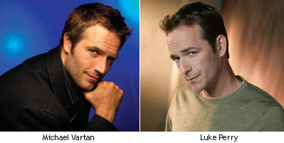 Michael Vartan y Luke Perry