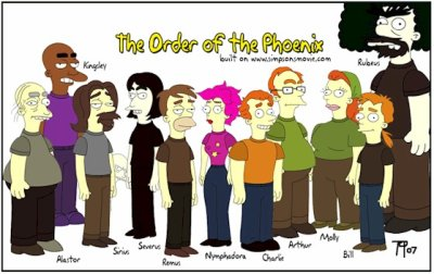 Order of the Phoenix Simpsons