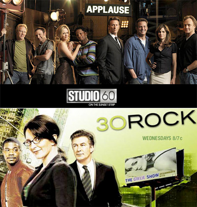 Studio 60 son Sunset Strip and 30 Rock