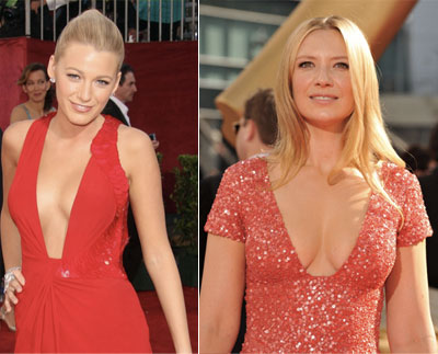 Blake Lively Anna Torv Emmy 2009