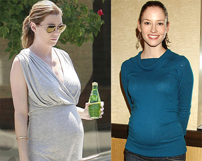 Ellen Pompeo and Chyler Leigh pregnant