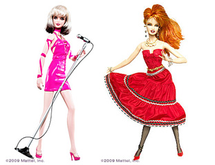 Barbie Debbie Harris Cindy Lauper