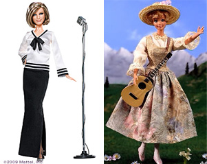 Barbie Barbara Streisand Julie Andrews