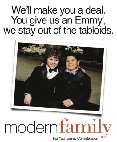 Modern Family Emmy Campaing