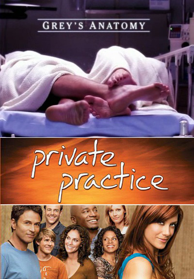 Gray's Anatomy and Private Practice