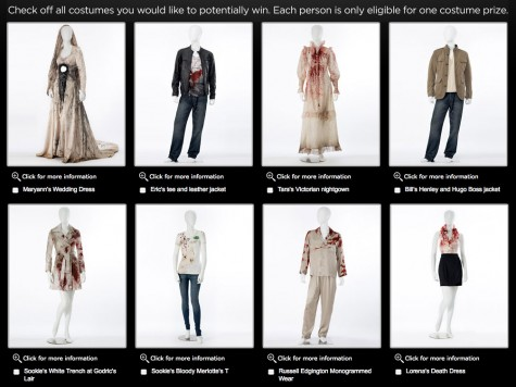 True Blood HBO Sweepstakes Halloween dresses