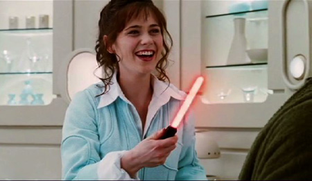Zooey Deschanel Sable láser