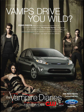The Vampire Diaries Ford Fiesta