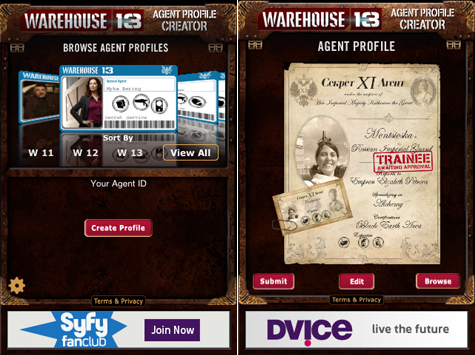 Warehouse 13 iPhone