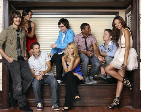 SCOTT MICHAEL FOSTER, DILSHAD VADSARIA, JACOB ZACHAR, CLARK DUKE, SPENCER GRAMMER, PAUL JAMES, JAKE MCDORMAN, AMBER STEVENS