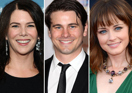Lorelai, Rory y Jason Ritter